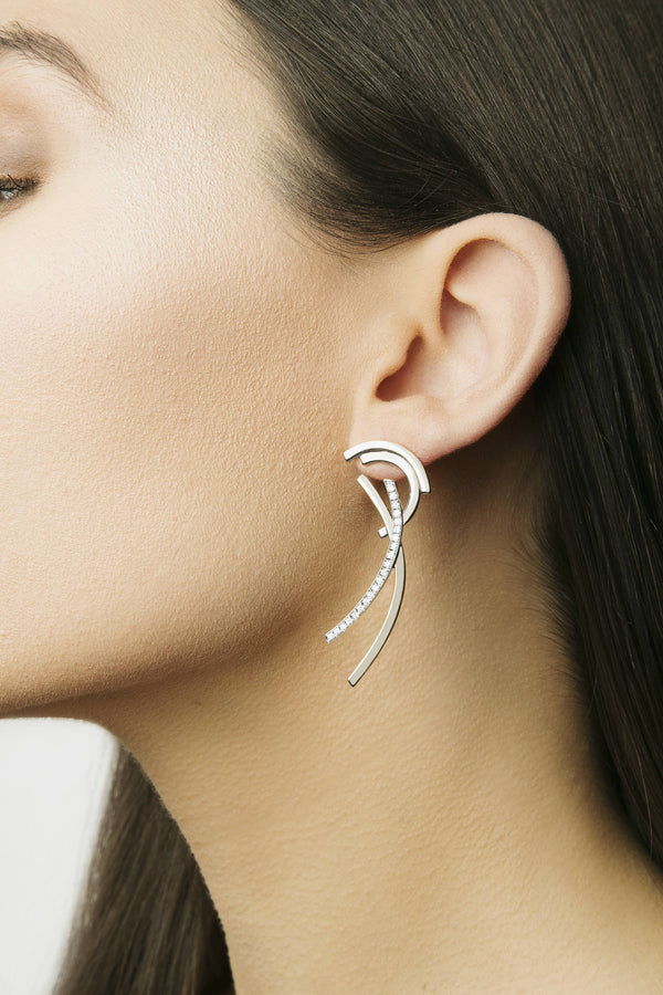 Long Fragment Earrings