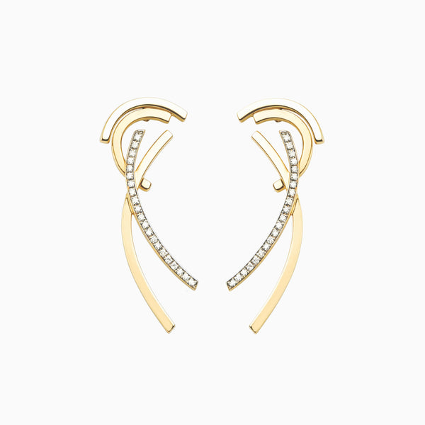 Boucles d'oreilles Long Fragment