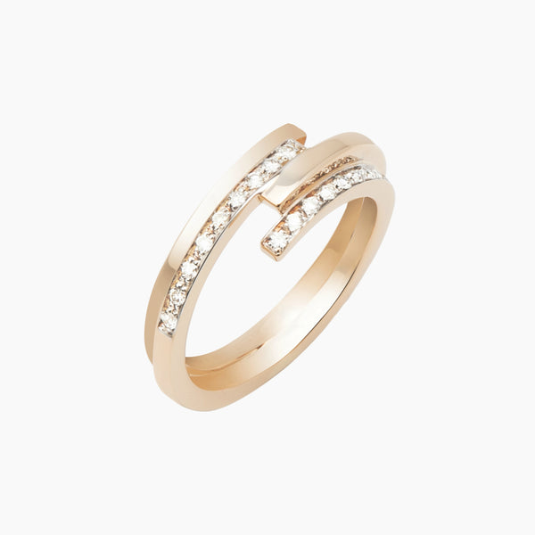 Pave Parallel Ring