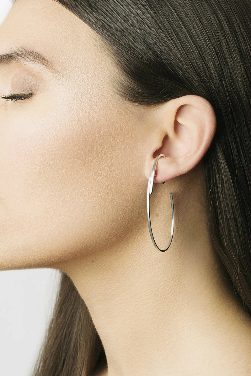 Huge Circle Earrings
