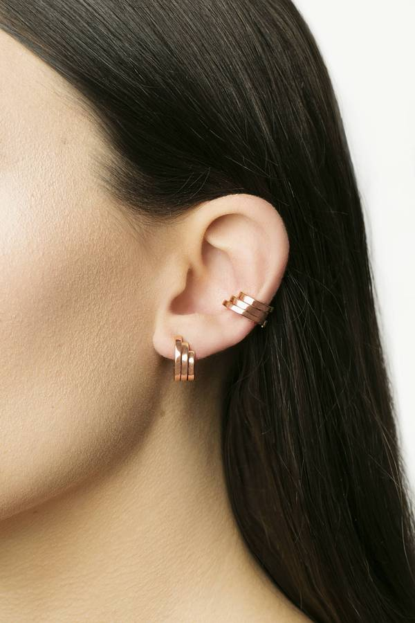 Triple Fragment Earcuff
