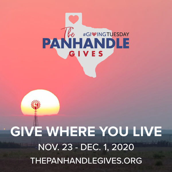 We're Part of The Panhandle Gives!