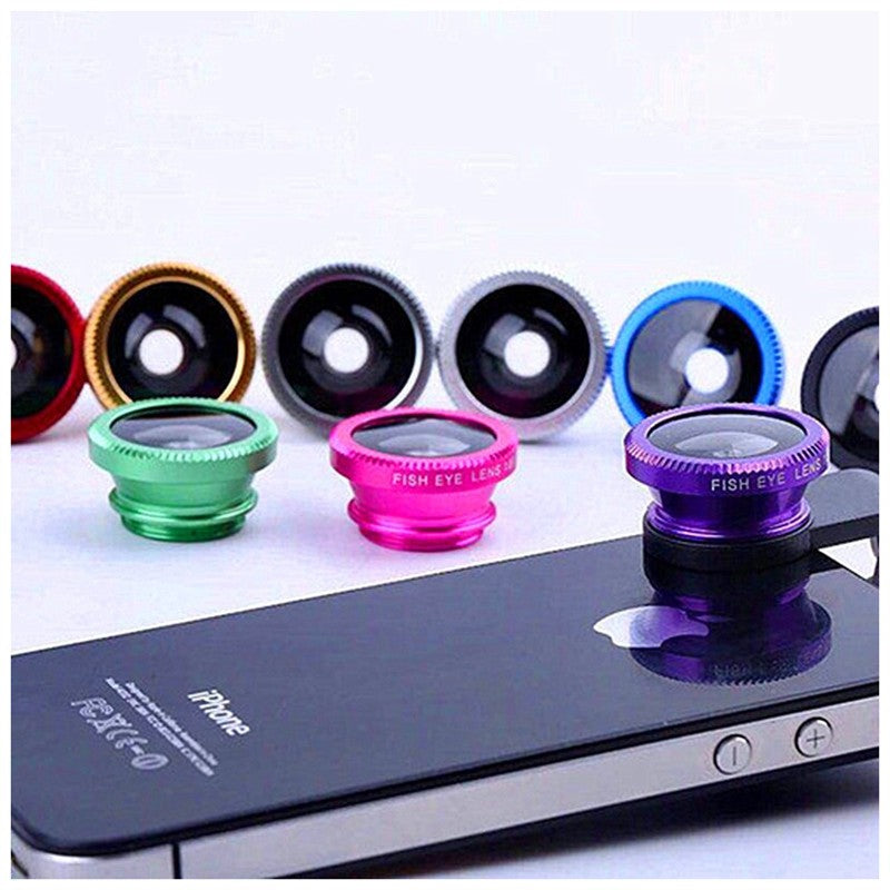 MasterG Shop 3 in 1 180 Degree Fisheye Lens - Travel
