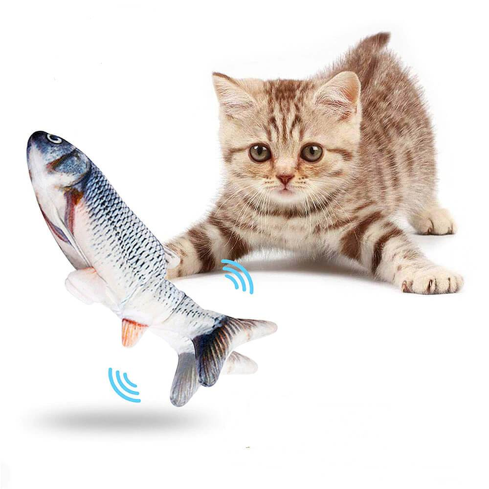 MasterG Shop Floppy Fish™ Interactive Toy - Pet