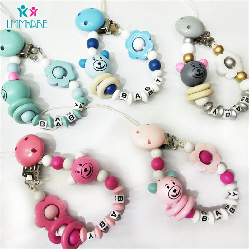 MasterG Shop Pacifier Cartoon Clips - Baby