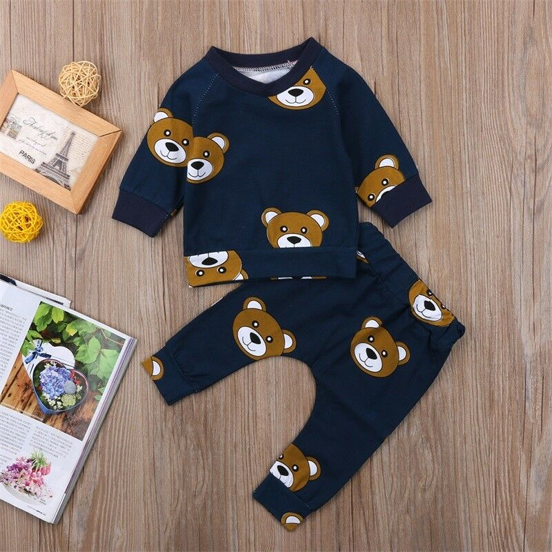 MasterG Shop Teddy Bear Newborn Outfit - Baby