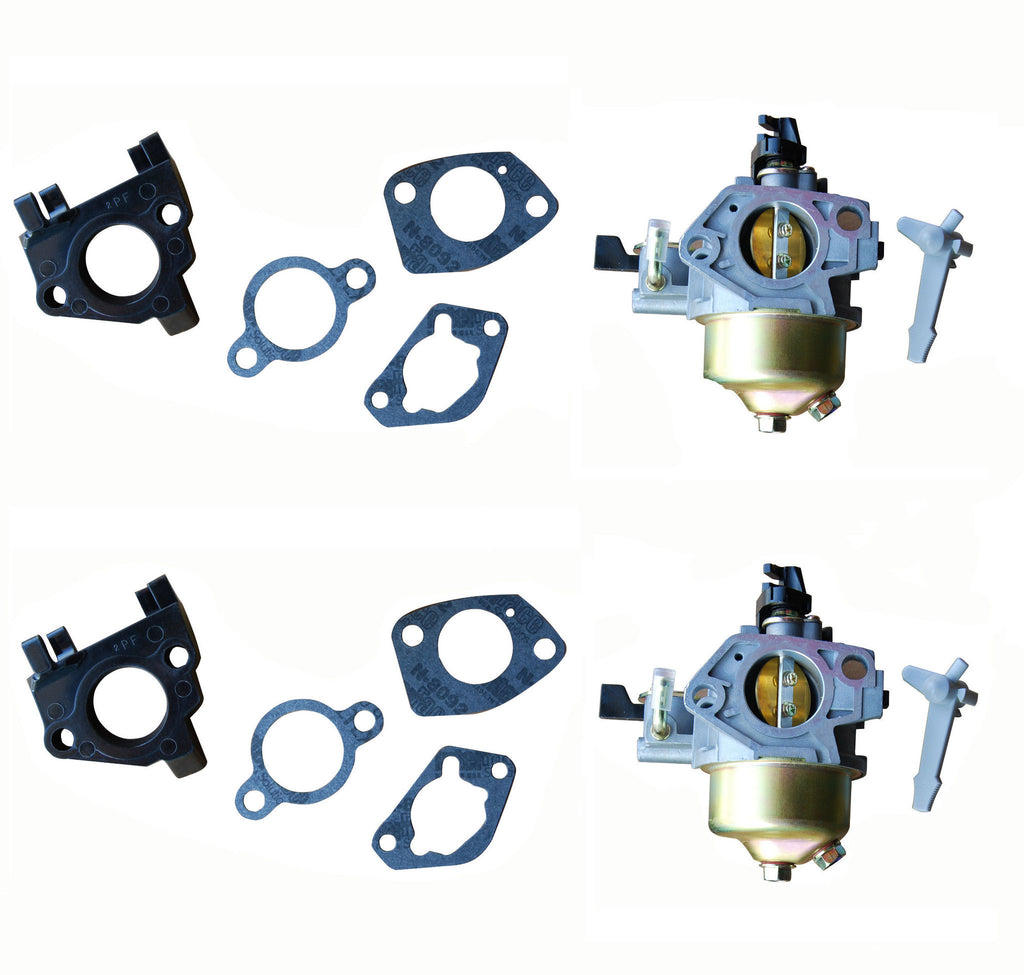 Everest Carburetors Adjustable With Gaskets Fits Honda GX390 2 Pack