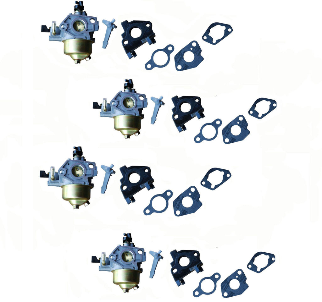 Everest Carburetors Adjustable With Gaskets Fits Honda GX240 4 Pack