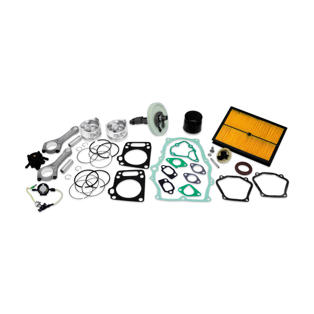 Rebuild Kit Fits Honda GX610 GXV610 Piston Camshaft Gasket Pump Air Filter Rod