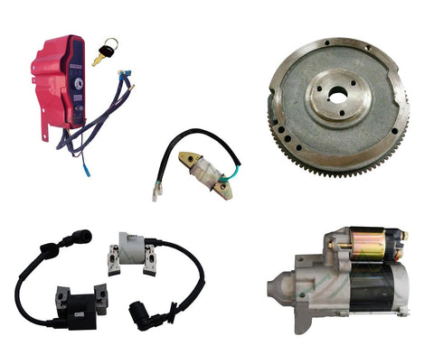 New Electric Start Conversion Kit Fits Honda GX620 Engines Flywheel Starter Coil