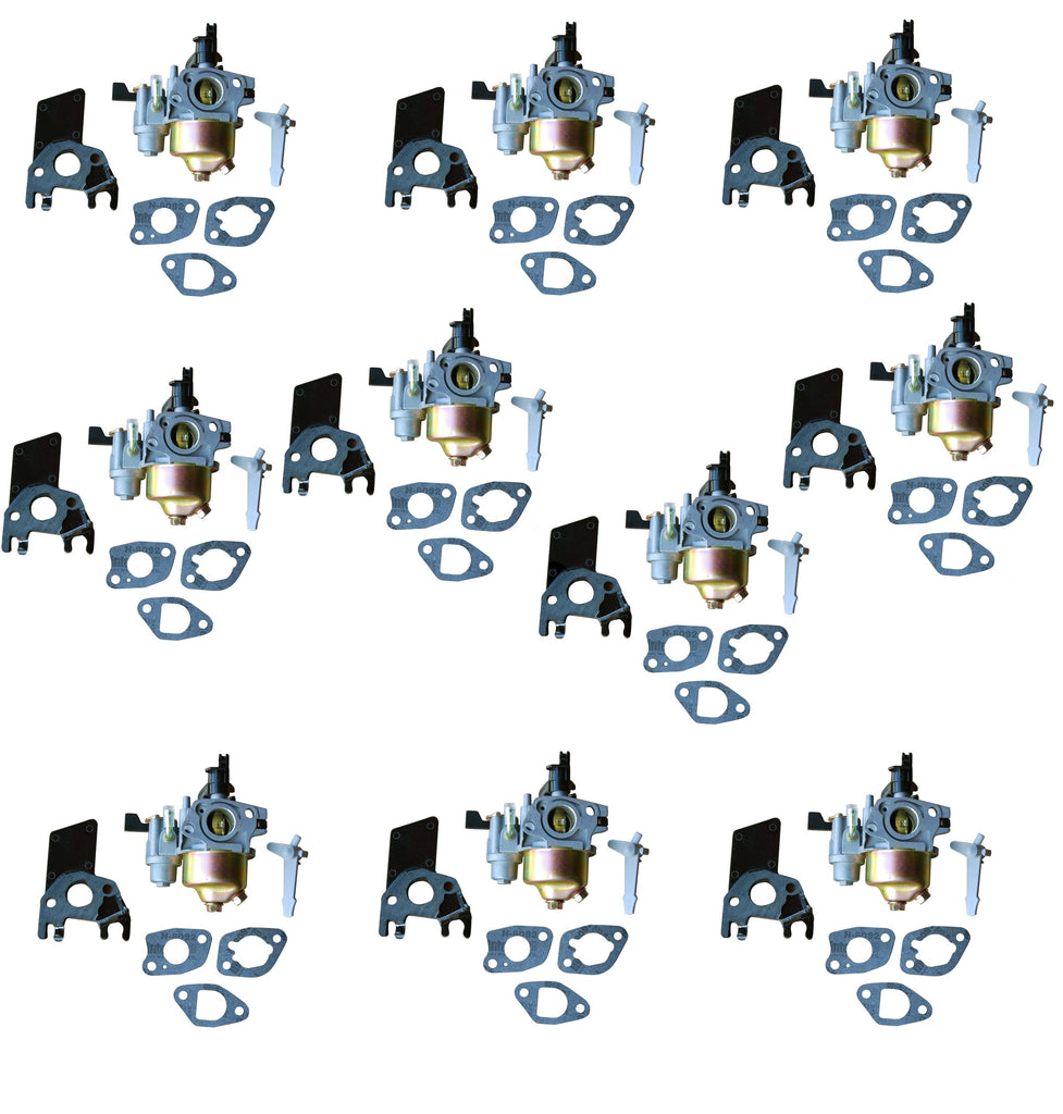 New 10 Pack of Carburetors Fits Honda GX160 With Gaskets and Insulators