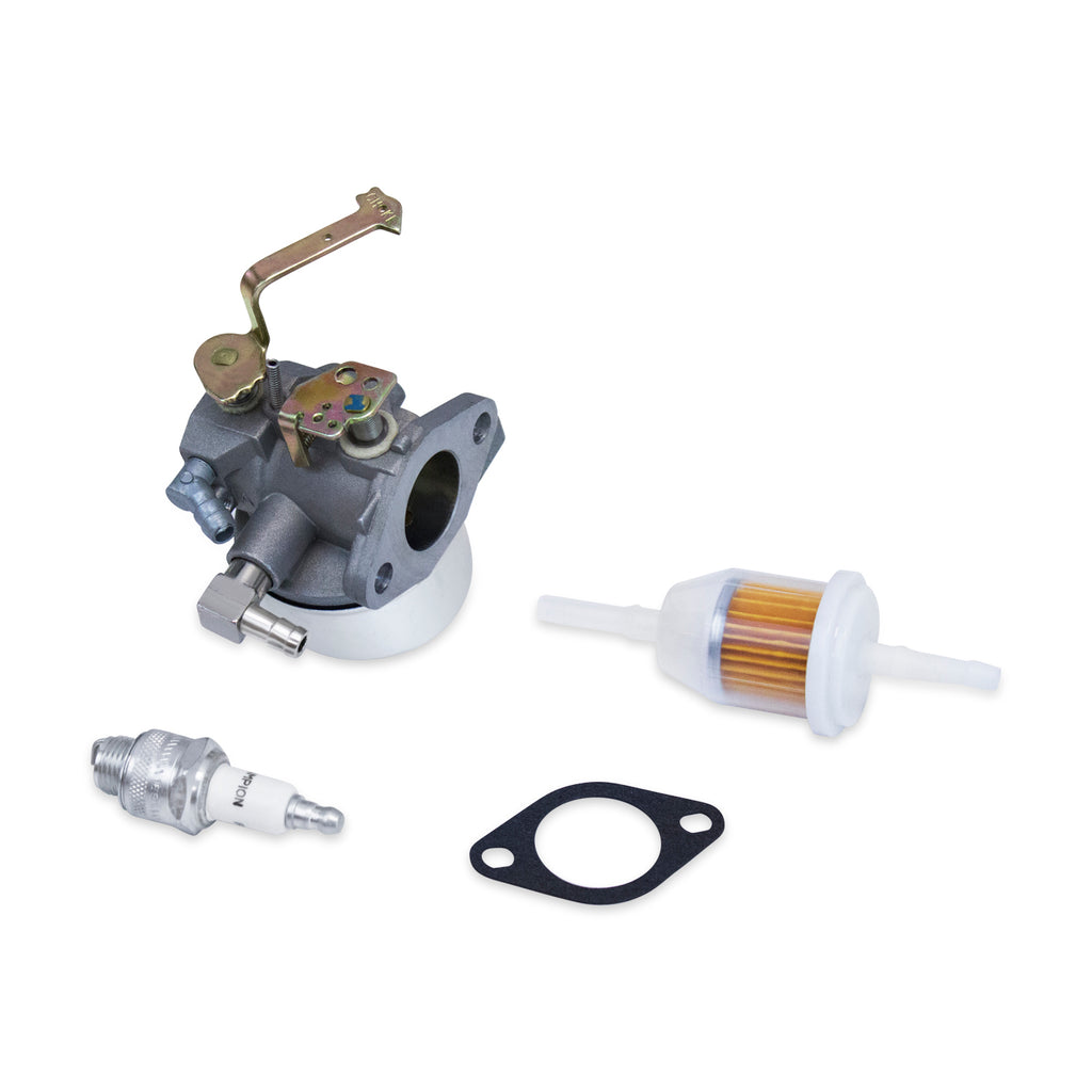 Carburetor Spark Plug Fuel Filter Fits Some Tecumseh HM90 HM100 640152A 640051