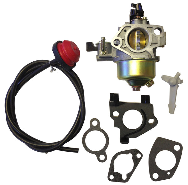 Everest Carburetor W/ Primer Gaskets & Spacers Fits Honda HS1132 HS1332 HS1336I
