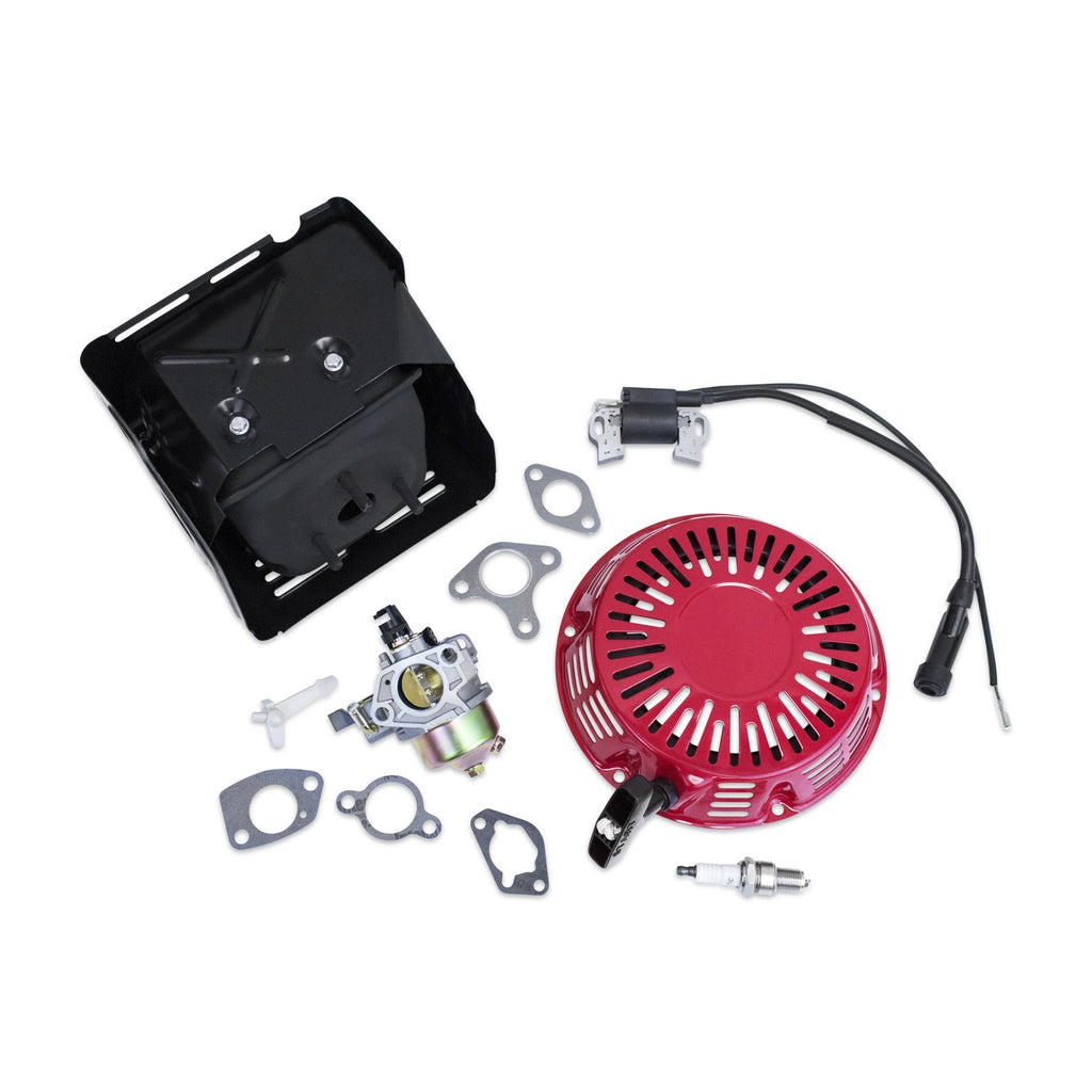 New Kit Fits Honda GX390 Carburetor Ignition Coil Recoil Muffler and more!