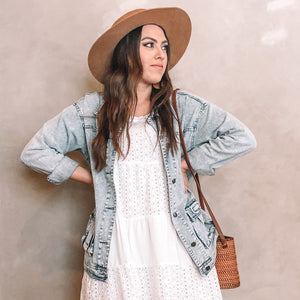 VINTAGE OVERSIZED DENIM JACKET
