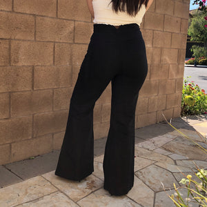 RAMIE WIDE LEG TROUSERS