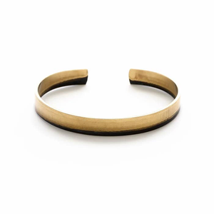 MIRED METAL SLIM CUFF BRACELET