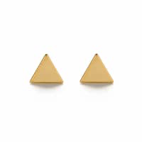 Load image into Gallery viewer, DAINTY TRIANGLE STUDS