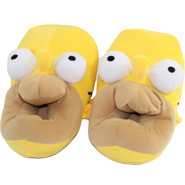 Chaussons Homer Simpson