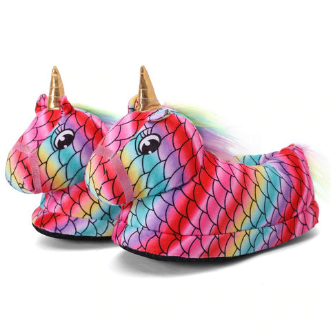Chaussons Licorne Ecaille