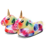 Chaussons Licorne Multicolore