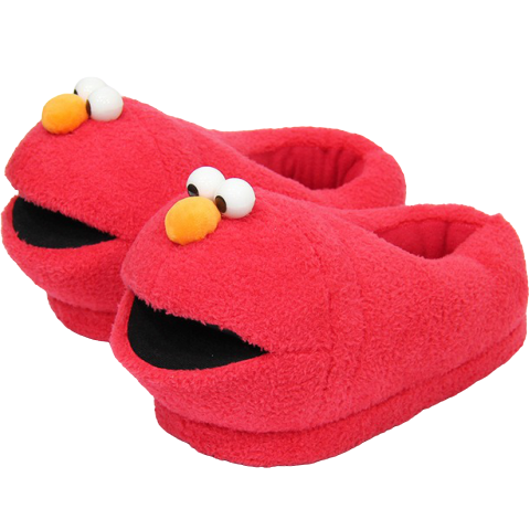 Chaussons Elmo Monster