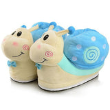chaussons escargot bleu