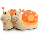 chaussons escargot orange