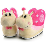 chaussons escargot rose