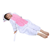 costume chat blanc enfant