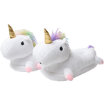 Chaussons Licorne Blanche