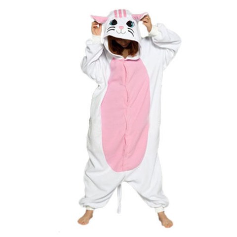 pyjama chat blanc enfant