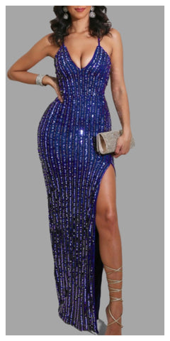 Make It Sexy~N~Snappy Sequins Dress - Sexy~N~Snappy