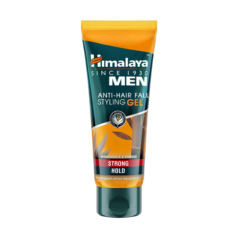 Himalaya MEN Anti-Hair Fall Styling Gel - Strong Hold - Long lasting and Firm hold. Reduces Hair Fall