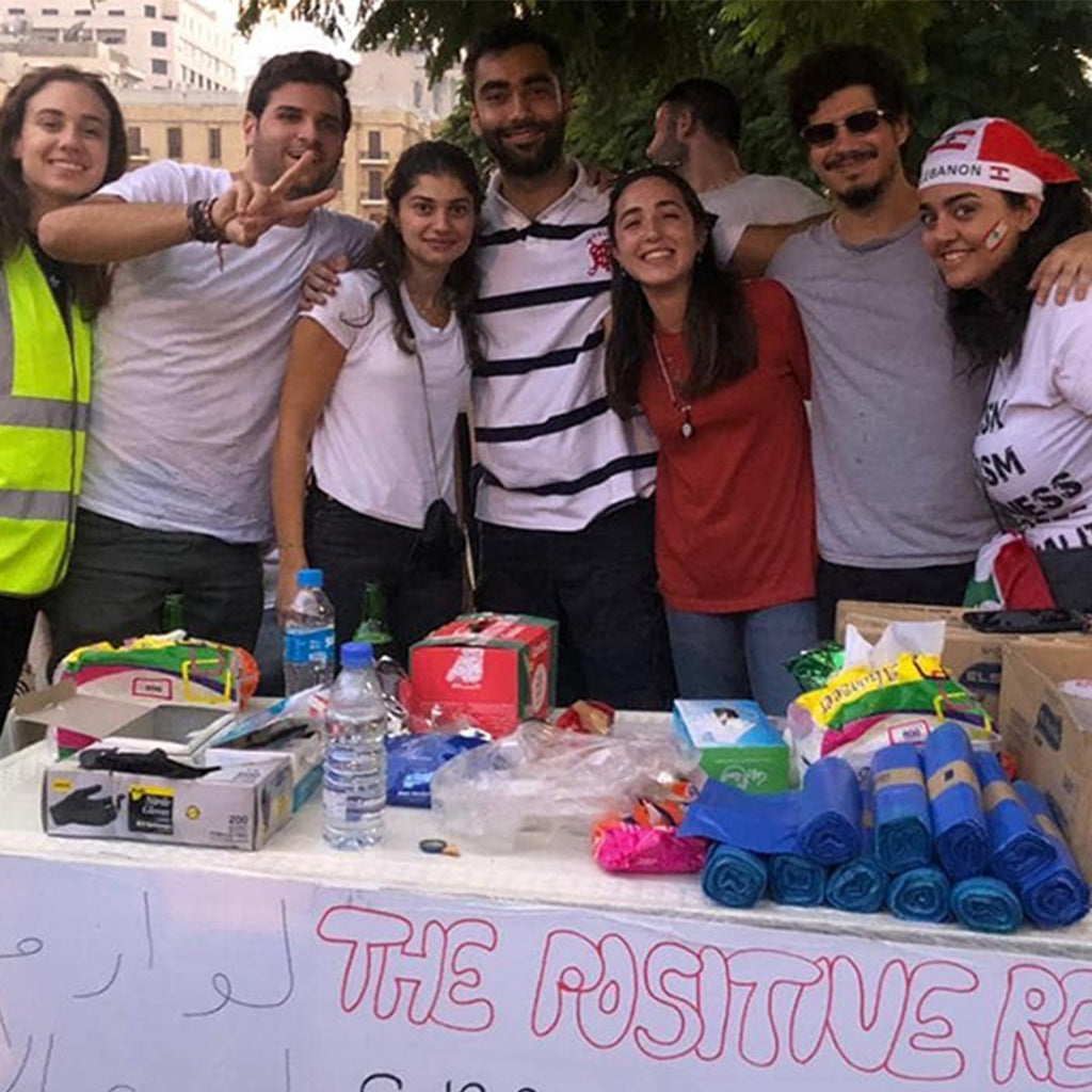 The Positive Revolution Campaign | Presentail | Send gifts to Lebanon!