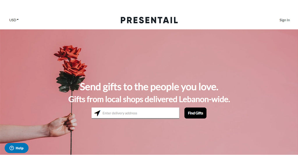 Presentail Homepage