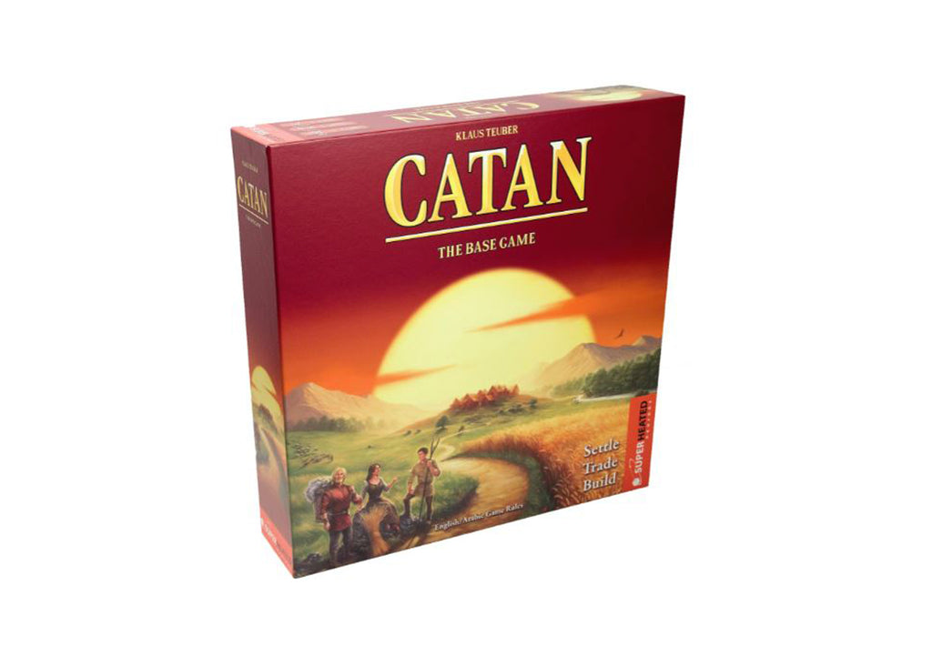 Catan Base Game_ Super Heated Neurons.