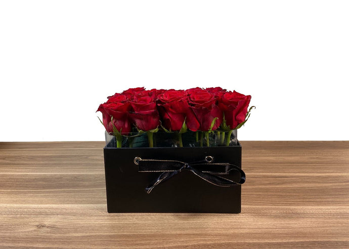 Large Red Roses Box_ Takkoush Flowers