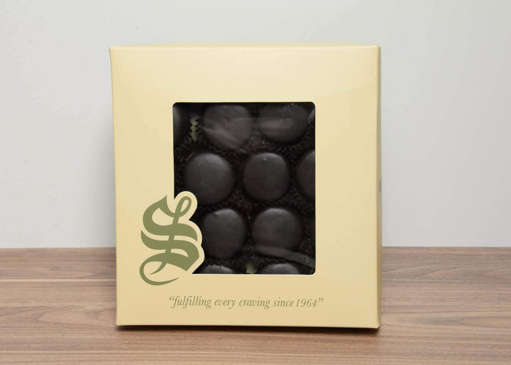 Petite Four Dipped in Chocolate_ Socrate