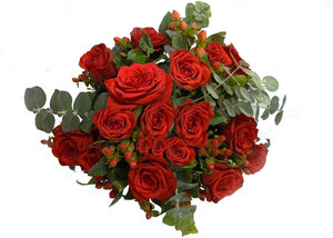 The Red Rose Bouquet - Presentail SAL