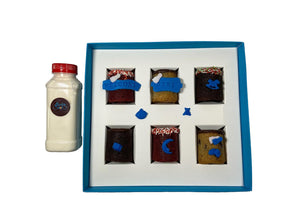 Welcome Baby Boy! Cookie Shots - 6 pcs - Presentail SAL