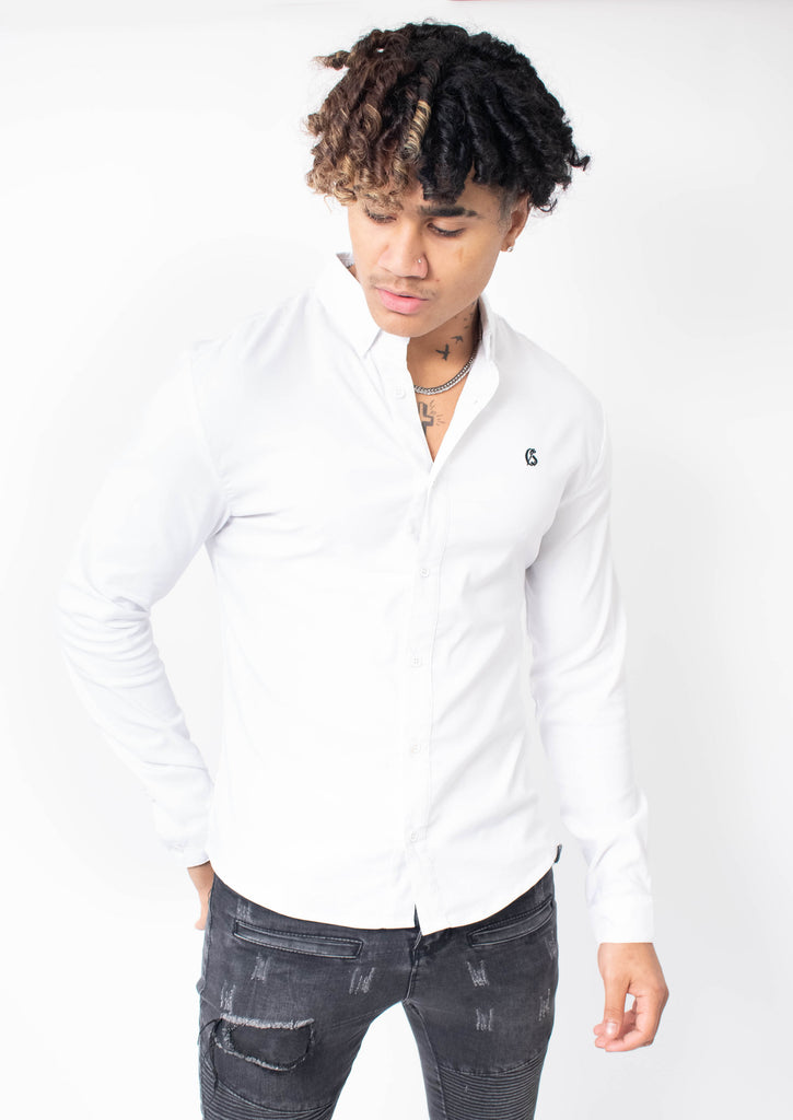 Carlson White Shirt - Street Secret