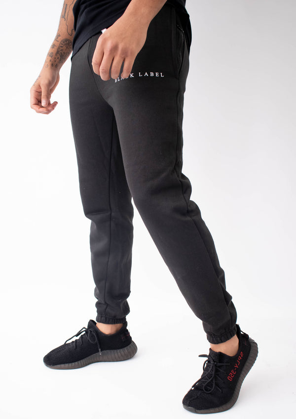 Street Secret - Black Tracksuit Bottoms