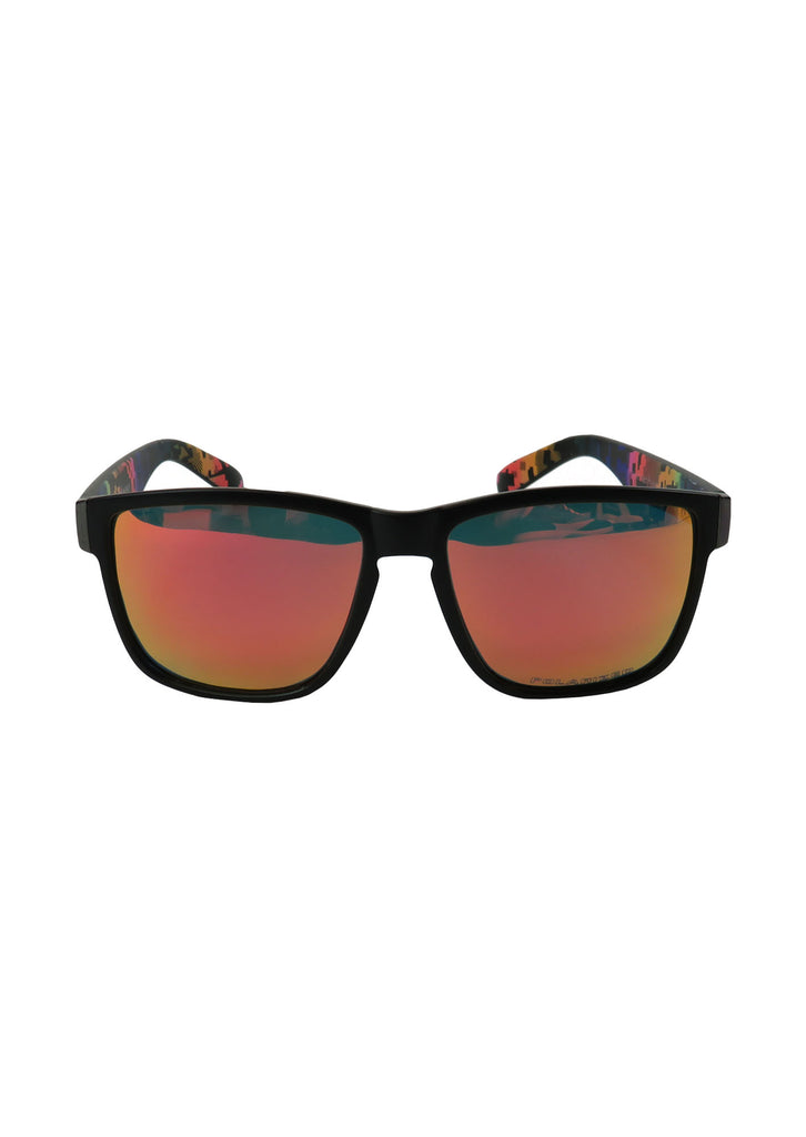 Lion & Bear Apparel Sunglasses - Retro Arctos (Orange/Red)