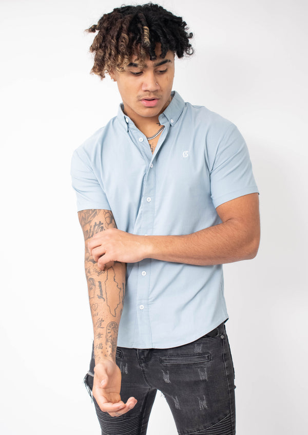 Carlson Arctic Blue Shirt - Street Secret