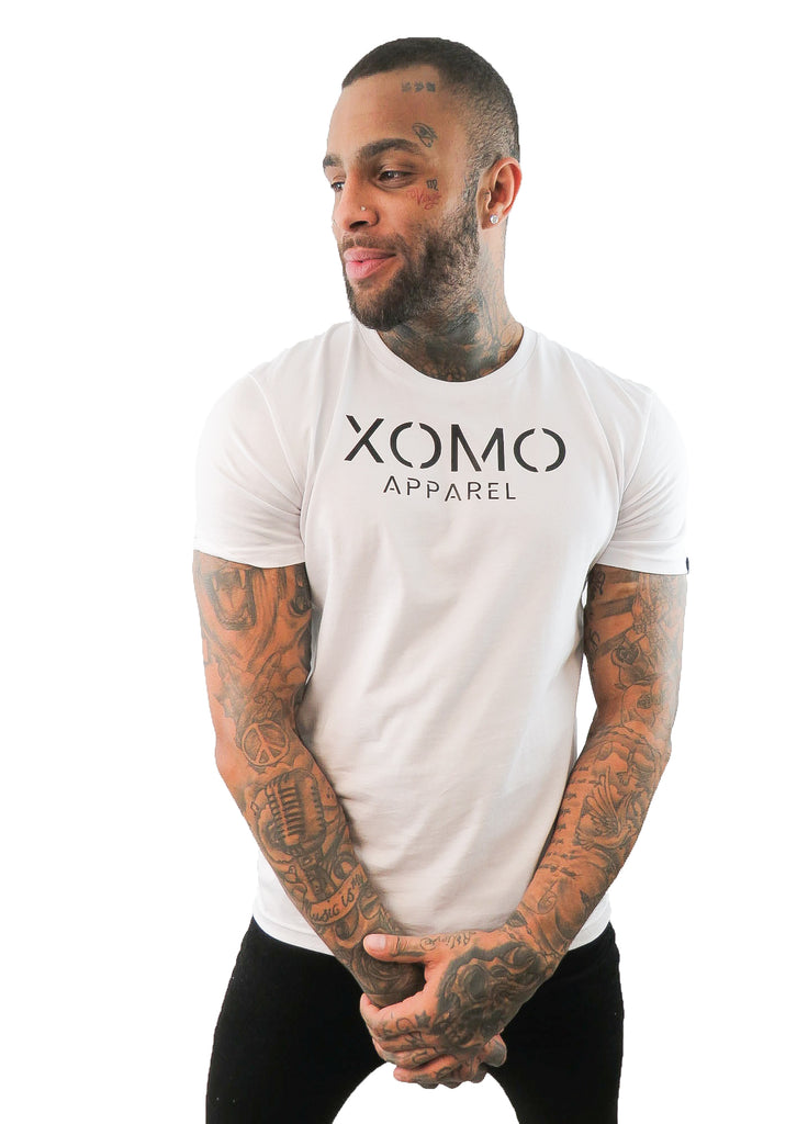 Xomo Apparel Original T-Shirt - White - STREET SECRET