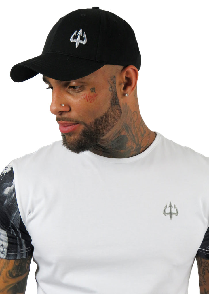 Mythology Black Signature Cap - STREET SECRET