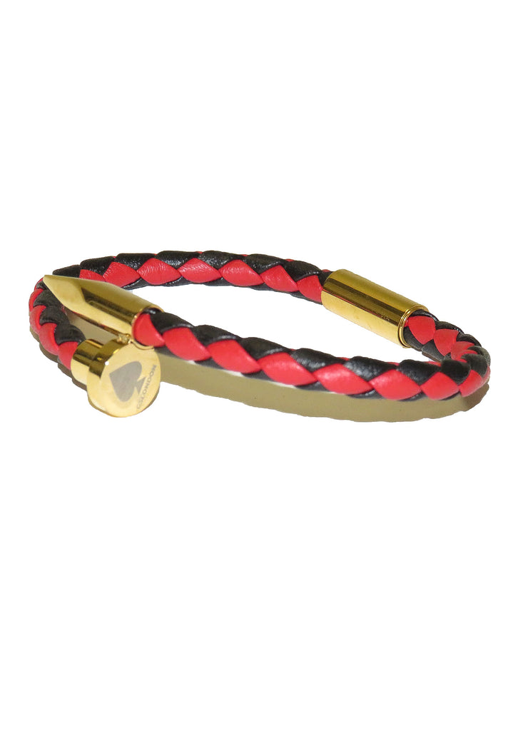 GS London Red / Black Bracelet