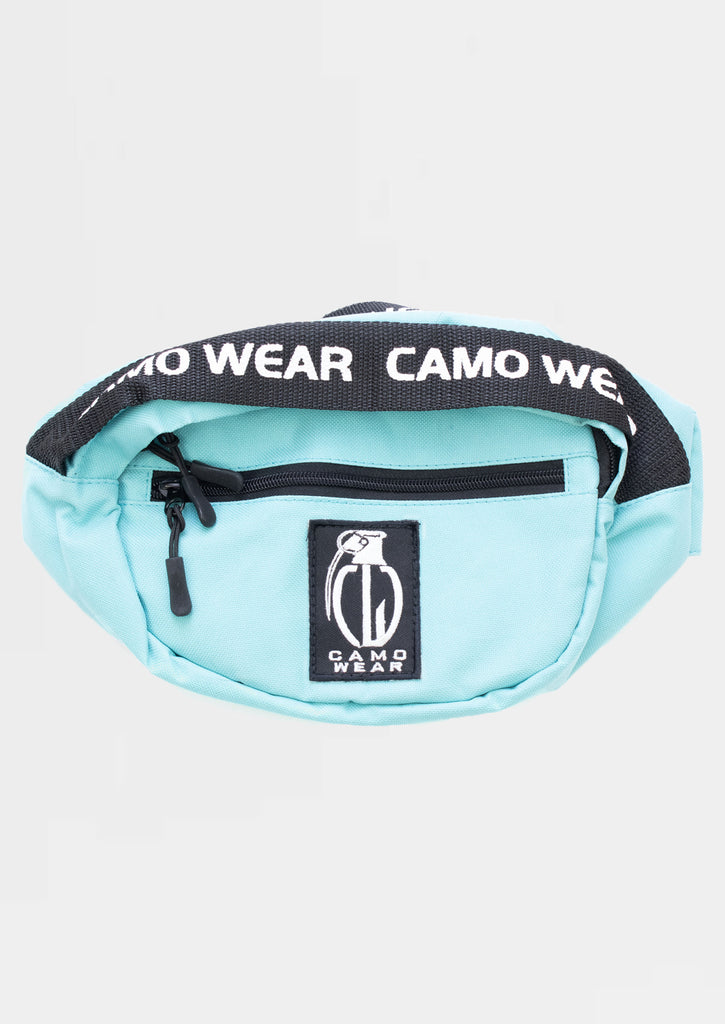 Camo Wear Fanny Packs/ Shoulder Bags - Turquoise