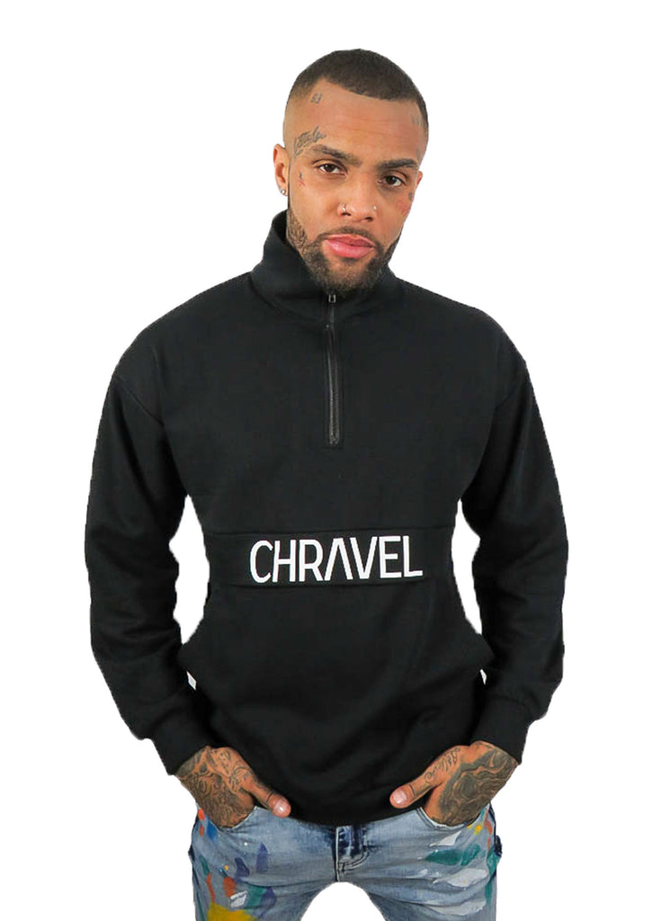Chravel Collection Unisex Oversized Quarter Zip - STREET SECRET